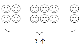 第一学期青岛版一年级数学1-4单元测试题