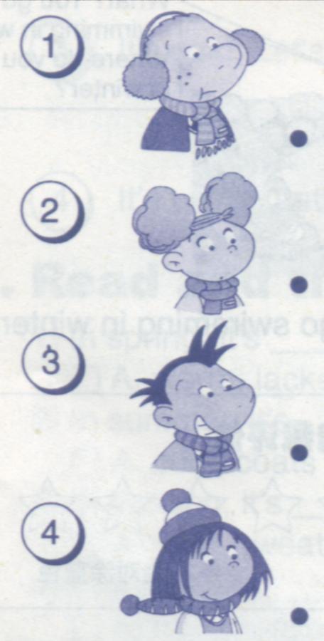 小长山小学二年级英语上期末试卷